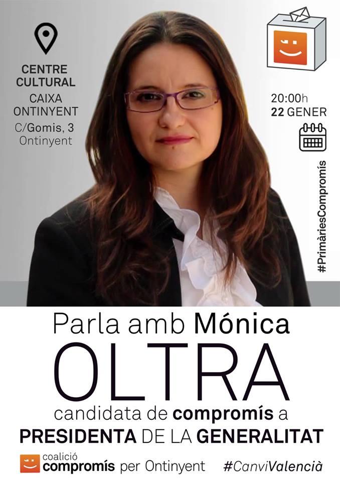Cartell Mónica Oltra